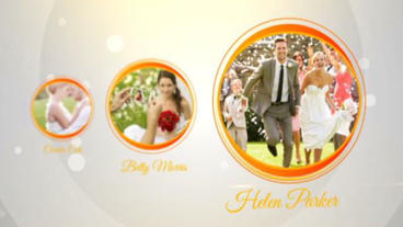 White Clean Wedding Slidehow After Effects Project