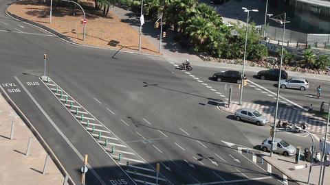 Barcelona street timelapse Footage