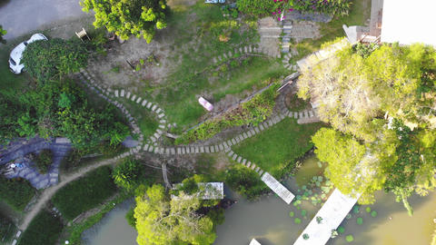 Aerial photography of Miaoli wedding photography base in Taiwan Live Action