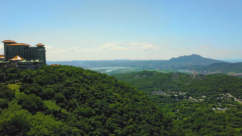Aerial photography of Yangmingshan wedding photography base in Taipei, Taiwan Live Action