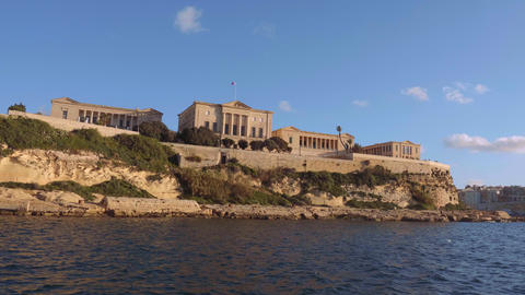 Famous Villa Bighi in Valletta Live Action