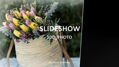 100 photo slideshow Full HD After Effects Template