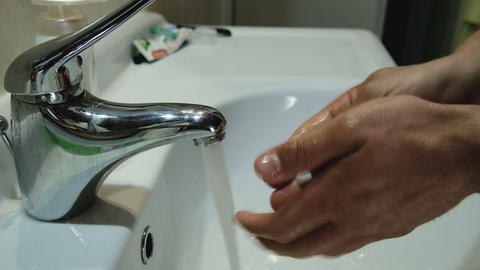 Wash hands for virus infection protection,clean health care medical,coronavirus Live Action