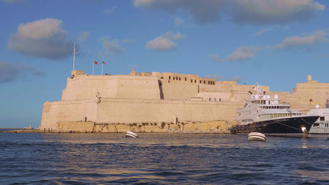 Cityscapes of Valletta - the capital city of Malta Live Action