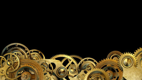 Steampunk Mechanism Animation