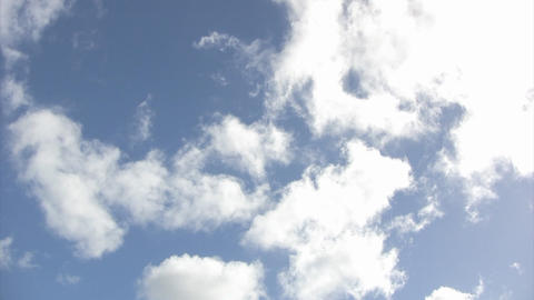 Blue Sky02 stock footage