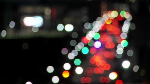 The Houston skyline at dusk Stock Video Footage