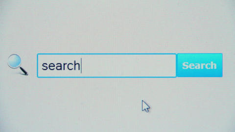 Search - browser search query, Internet web page Live Action