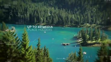 Digital Slideshow 4K and 1080 After Effects Projekt