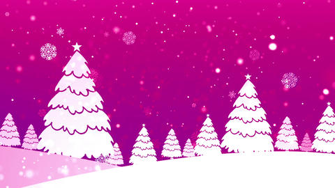 Christmas Retro 4 Loopable Background Animation