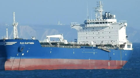 Cargo Ship And Shipping Industry Live Action