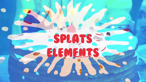 Splats Pack Motion Graphics Template
