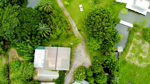 Aerial Photography of Daxi Wedding Photography Base in Taoyuan, Taiwan Live Action