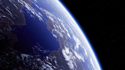 Planet Earth. Amazing View From Space GIF