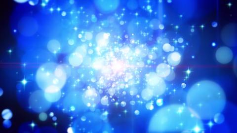 4K CGBG SeamlessLoop Twinkle Sapphire Particle Animation