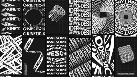 Knetic Typography Instagram Stories Motion Graphics Template