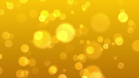 Loopable Horizontal Background of Animated Golden Yellow Boke Flashing Effect Live Action