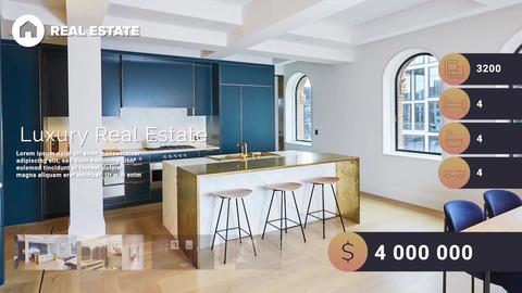 Real Estate Plantilla de After Effects