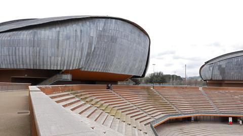 Auditorium Parco della Musica Rome, Italy Footage
