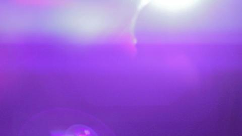 Happy beautiful girl dancing, party lights, nightclub atmosphere Footage