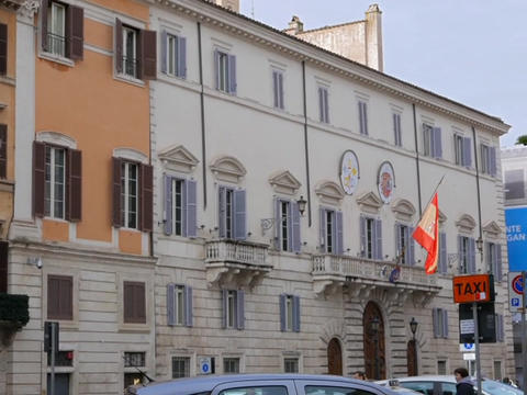 Embassy of Spain in Italy. Rome, Italy Live Action