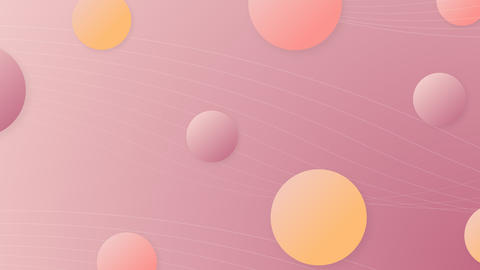 Pastel abstract background from balls GIF