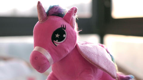 Unicorn fairy tale soft toy background mythology creature Live Action