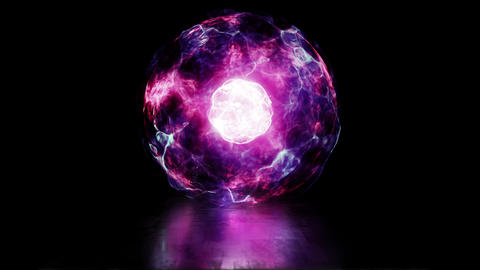 Sphere from Plasma Animation