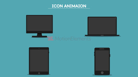 Icon Animaion After Effects Template