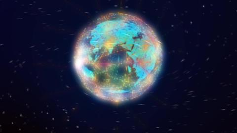 world network comunications Animation