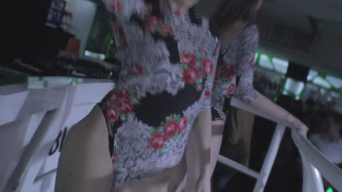 Go-go girls, DJ making best show for popular nightclub guests Footage