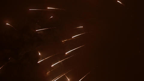 4K Ungraded: Fireworks Show / Fireworks Explosions Footage