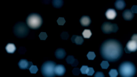 Bokeh Lights Overlay Background Animation
