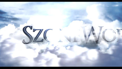 Cinematic Clouds Title Intro After Effects Template