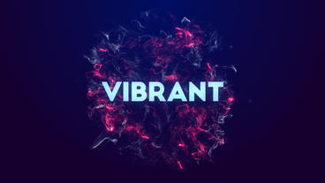 Vibrant After Effects Projekt