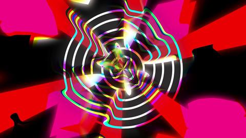 Acid Skull 4K 05 Vj Loop Animation