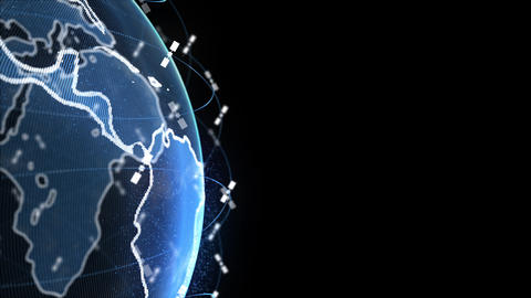 wireless internet data wifi connectivity by a global system of telecommunication Live Action
