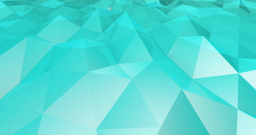 Polygon Landscape Abstract as a Graphic Design Element Live Action