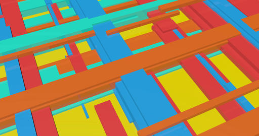 Gaming Retro Background with Pixel Platformer Concept Art Live Action
