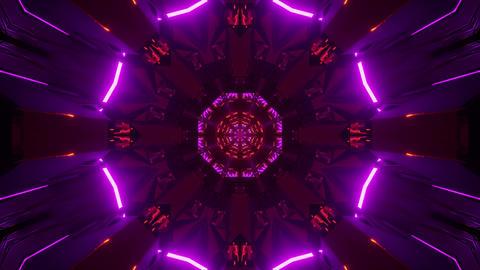 3d illustration motion background live wallpaper vj loop design of glowing red Animation