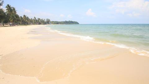 Phuket beach sea, View of beach sea on sun light in the summer Live Action