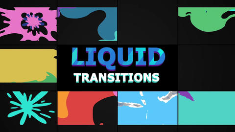 Smooth Transitions Motion Graphics Template