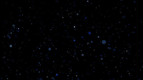 Flickering Particles, random motion of particles.On beatiful relaxing Background Live Action