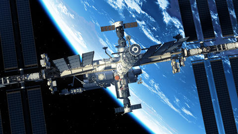 Commercial Spacecraft Is Preparing To Dock With International Space Station GIF