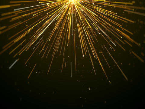 Gold light lines awards elegant abstract background Photo