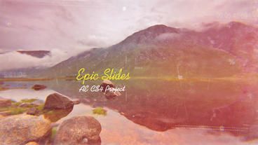 Epic Slides folder After Effects Projekt
