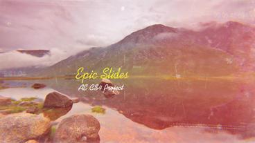 Epic Slides folder After Effects Project