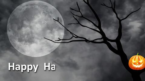 Happy Halloween 01 - Virtual Background Loop Footage