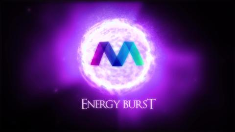 Energy Burst Logo Reveal Premiere Proテンプレート