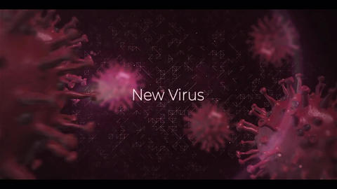 Coronavirus Titles Opener After Effects Template
